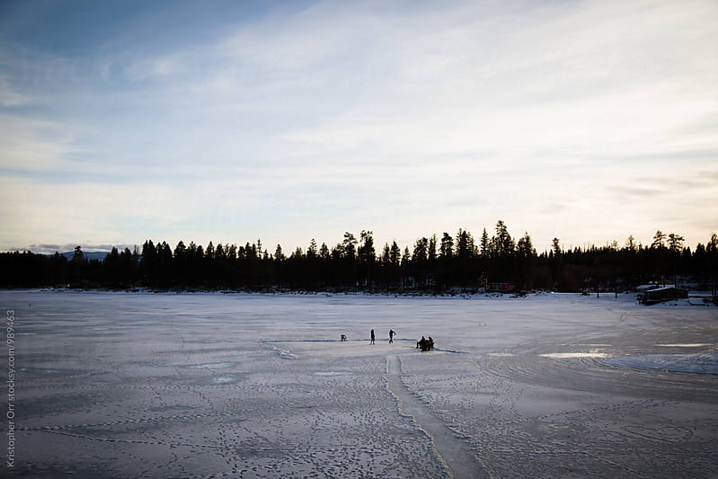 Pond Hockey by Kristopher Orr for Stocksy United