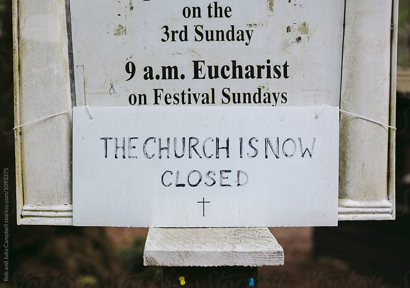 Closed Anglican church by Rob and Julia Campbell for Stocksy United