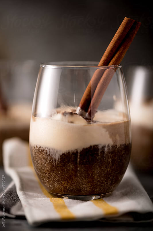 Espresso Sundae - Cinnamon Affogato by Jeff Wasserman for Stocksy United