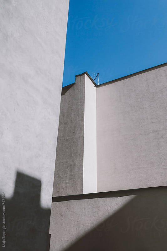 Interesting lines in buildings by Maja Topcagic for Stocksy United
