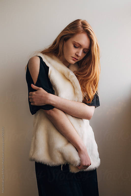 Beautiful Redhead by Maximilian Guy McNair MacEwan for Stocksy United
