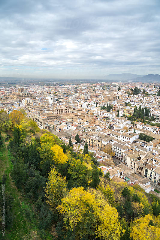 Views of Granada from the Alhambra by ACALU Studio for Stocksy United
