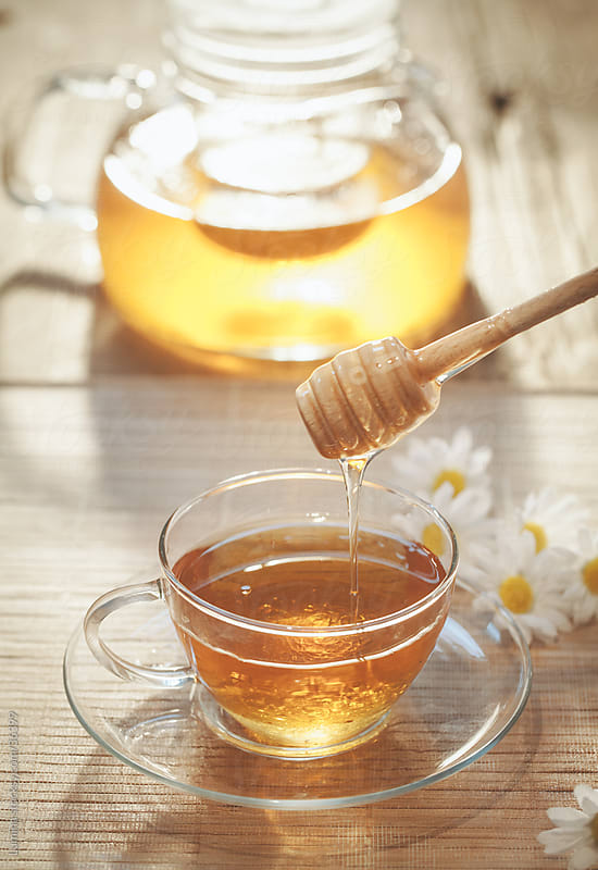 Camomile Tea and Honey by Lumina for Stocksy United