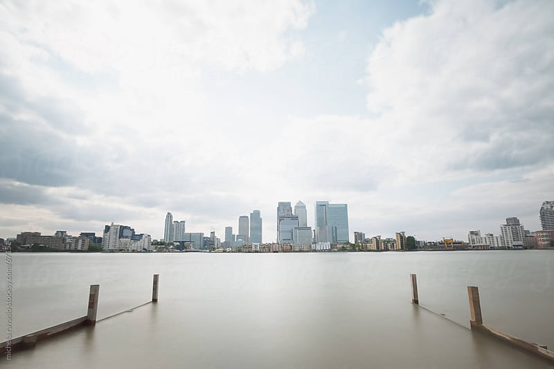 Canary wharf  by michela ravasio for Stocksy United