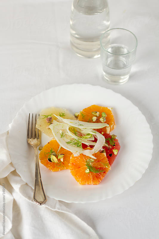 Citrus salad by Noemi Hauser for Stocksy United