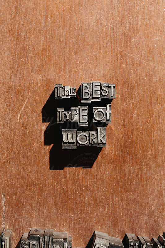 the best type of work by Brian Powell for Stocksy United