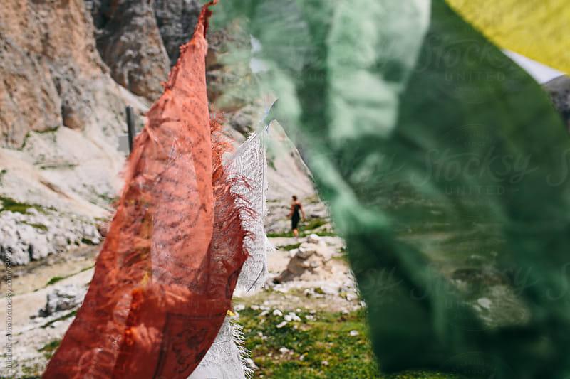 Tibetan Prayer Flags by michela ravasio for Stocksy United