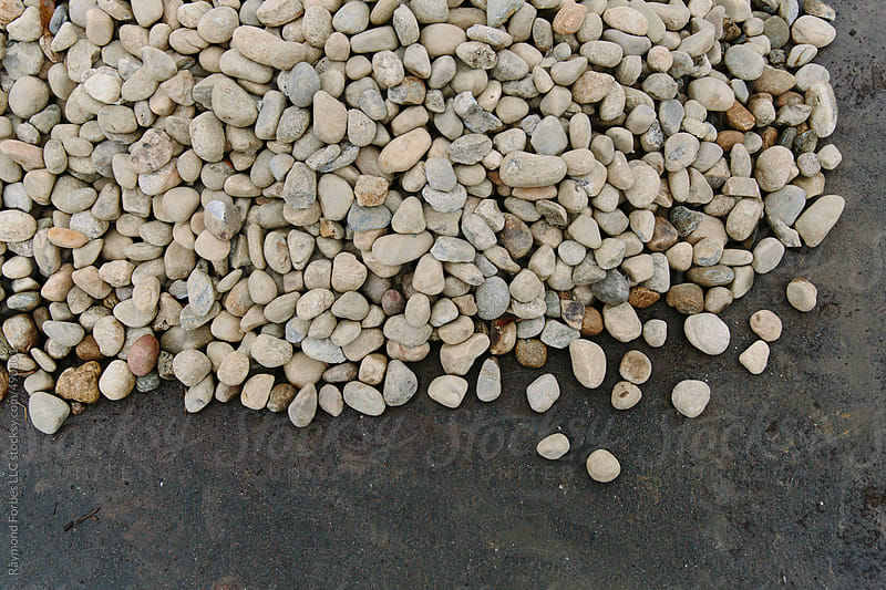 Stones in Driveway by Raymond Forbes LLC for Stocksy United