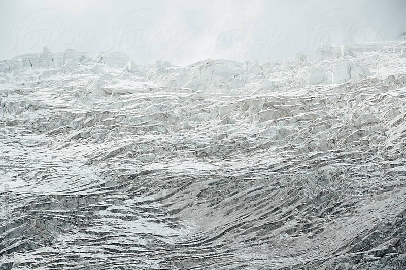 Feegletscher glacier by Peter Wey for Stocksy United