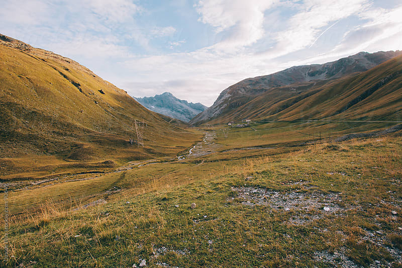 Landscape in the Stelvio National Park by Davide Illini for Stocksy United