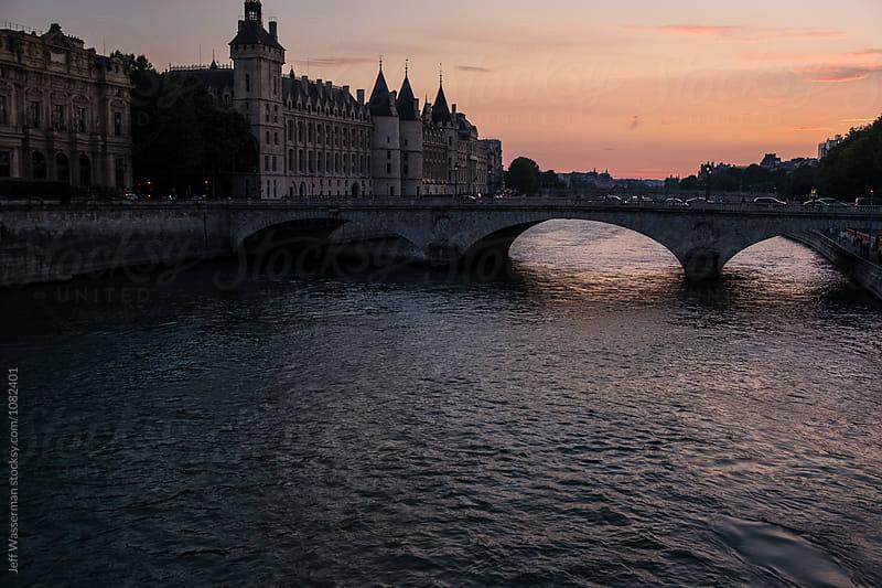Seine River in Paris by Jeff Wasserman for Stocksy United