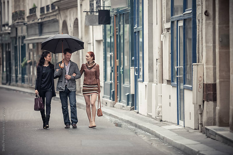 Parisian Stroll  by Shelly Perry for Stocksy United