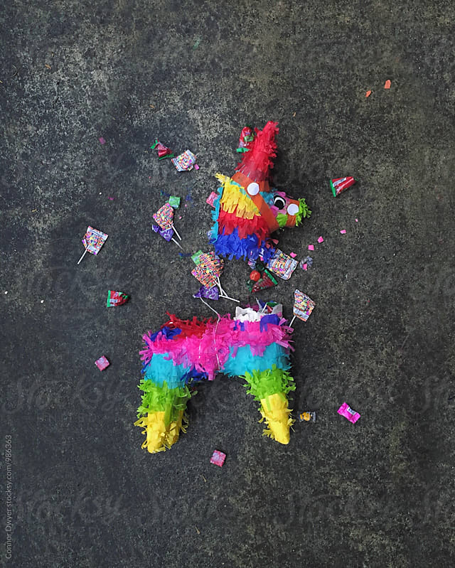Busted Pinata by Connor Dwyer for Stocksy United