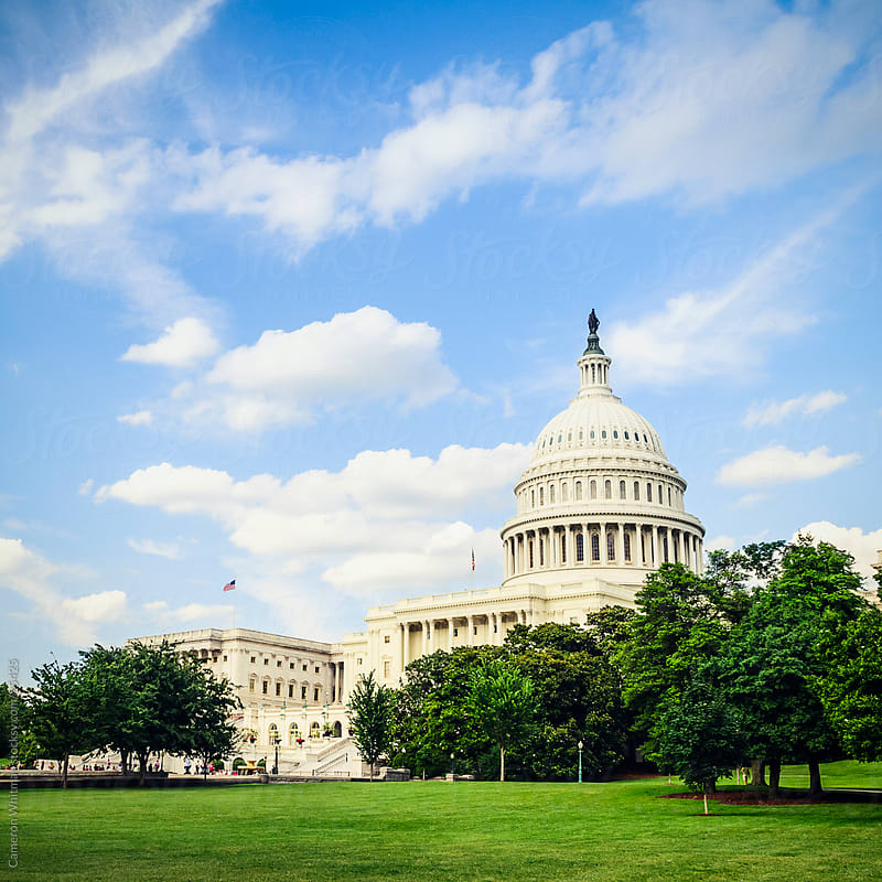 United States Capitol Building by Cameron Whitman for Stocksy United