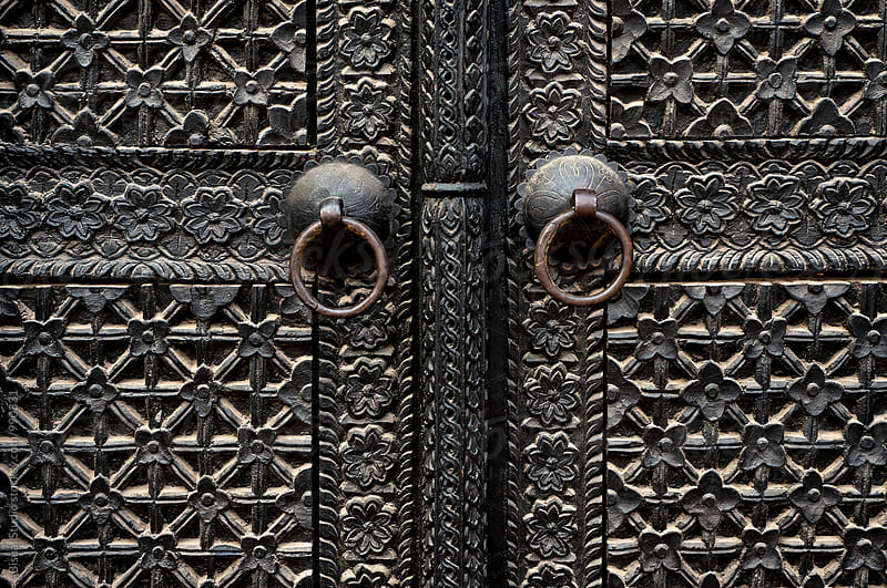 Antique Iron Gate in Kathmandu by Bisual Studio for Stocksy United