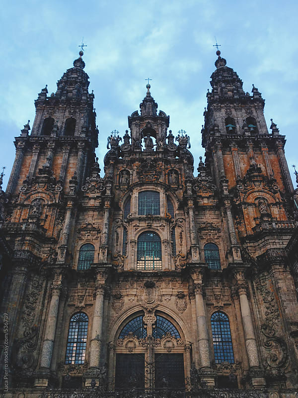Santiago de Compostela Cathedral, Spain  by Luca Pierro for Stocksy United
