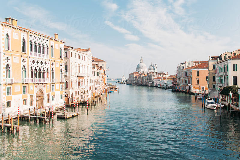 Grand Canal in Venice  by Nataša Mandić for Stocksy United