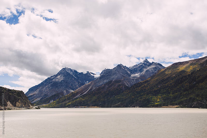 Ranwu lake in Tibet by zheng long for Stocksy United