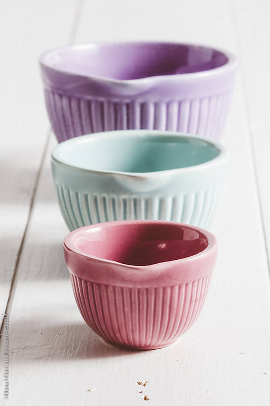 Measuring cups by Milena Milani for Stocksy United