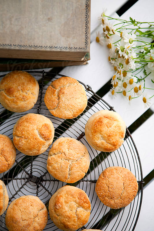 Homemade scones. by Rachel Dewis for Stocksy United