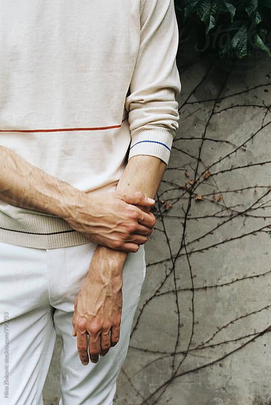 Man's hands.  by Nina Zivkovic for Stocksy United