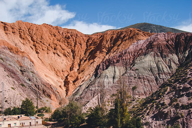 seven colors hill, purmamarca by Leandro Crespi for Stocksy United