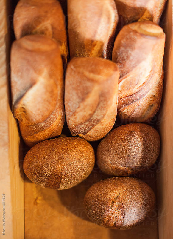 Freshly Baked Bread by Mosuno for Stocksy United
