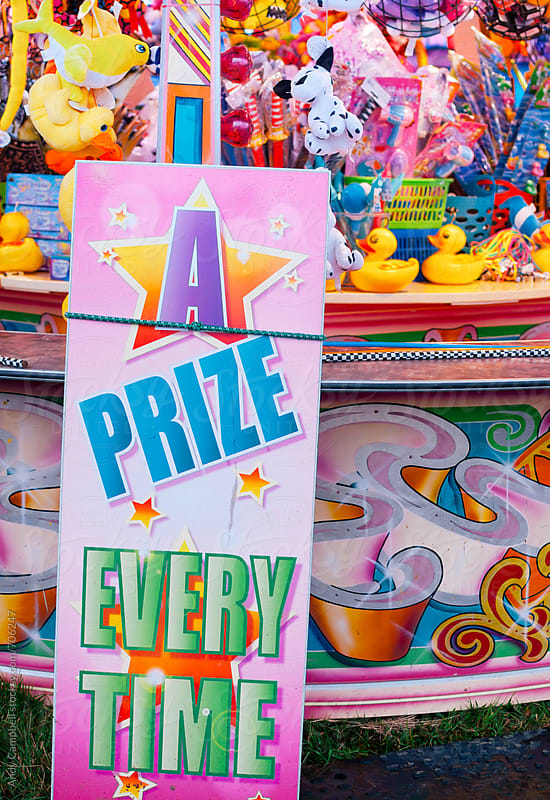 A prize every time. by Andy Campbell for Stocksy United