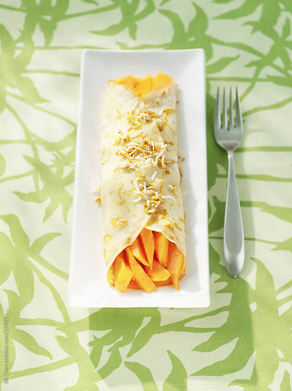 Tropical Crepe by Jill Chen for Stocksy United