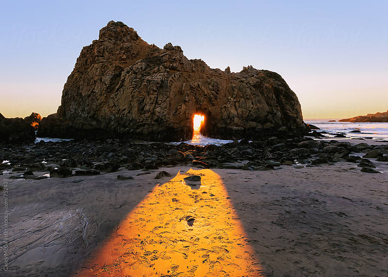 Big Sur Sunset by Casey McCallister for Stocksy United