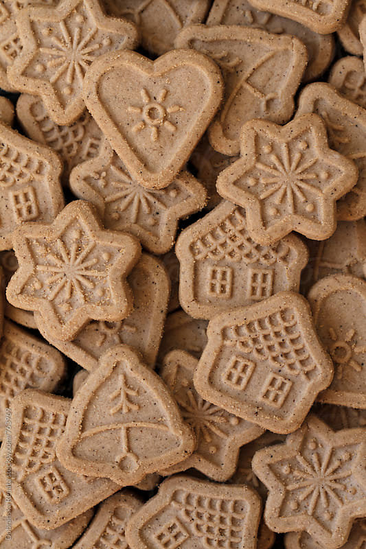 Christmas biscuits by Dobránska Renáta for Stocksy United