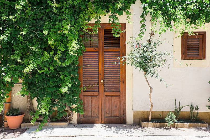 Sicilian Front Door by Justine Di Fede for Stocksy United