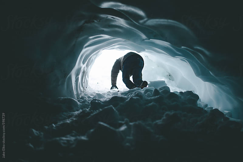 Glacial Climber by Jake Elko for Stocksy United