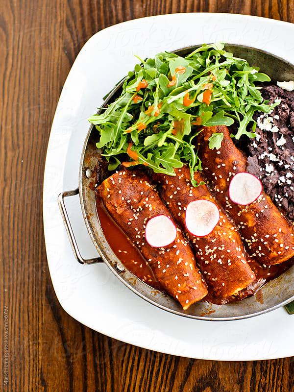 Enchiladas by Mark Fleming for Stocksy United