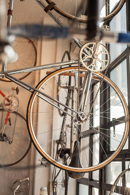 Bicycle Shop by Mosuno for Stocksy United