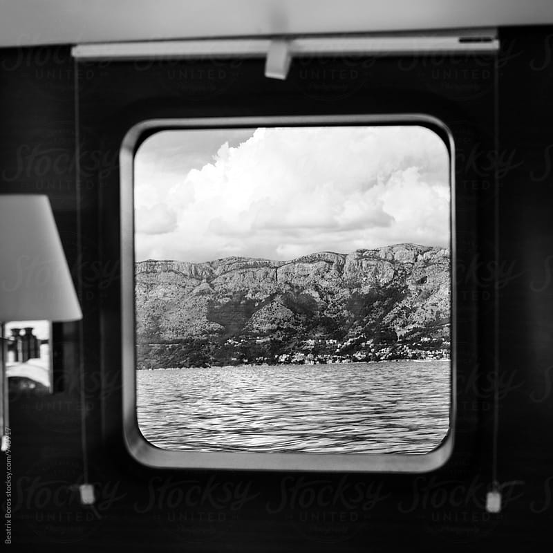 View from a sailing boat's window by Beatrix Boros for Stocksy United