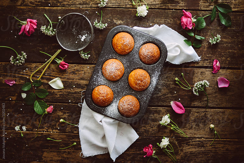 Muffins  by Jovana Vukotic for Stocksy United