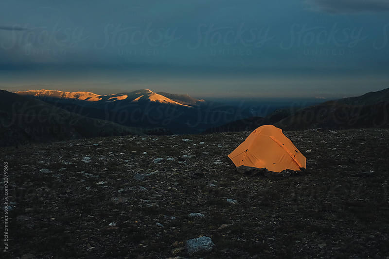 alpenglow by Paul Schlemmer for Stocksy United
