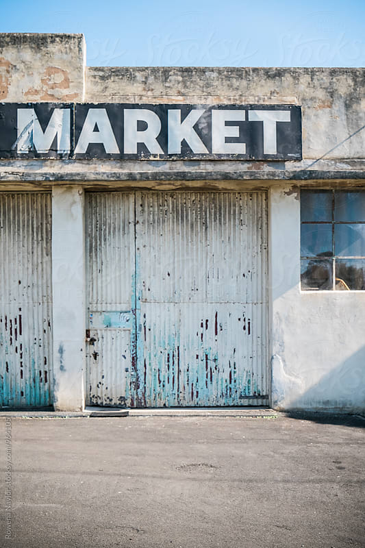 Old antique market by Rowena Naylor for Stocksy United
