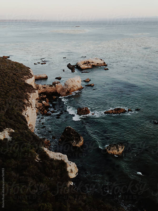 Above the Coastal Cliffs Dusk View by Kevin Russ for Stocksy United
