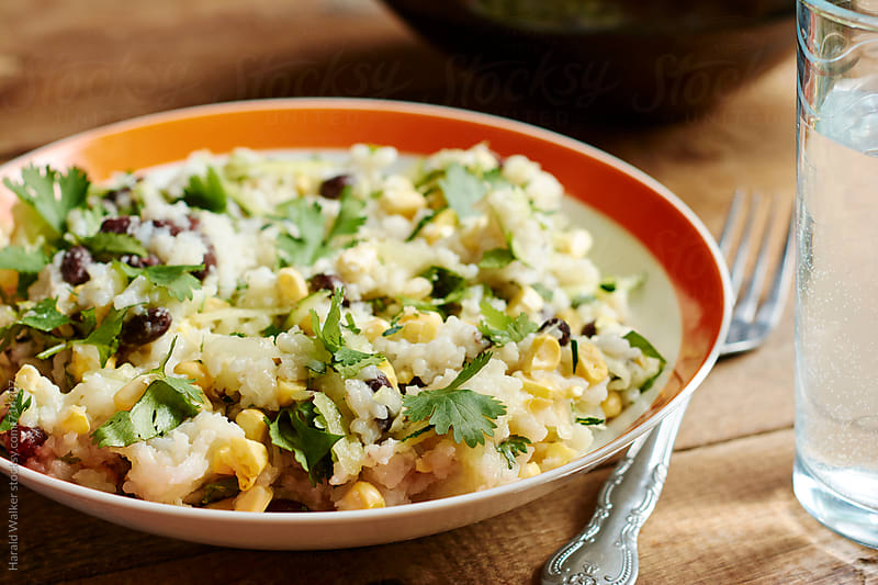 Zucchini rice by Harald Walker for Stocksy United
