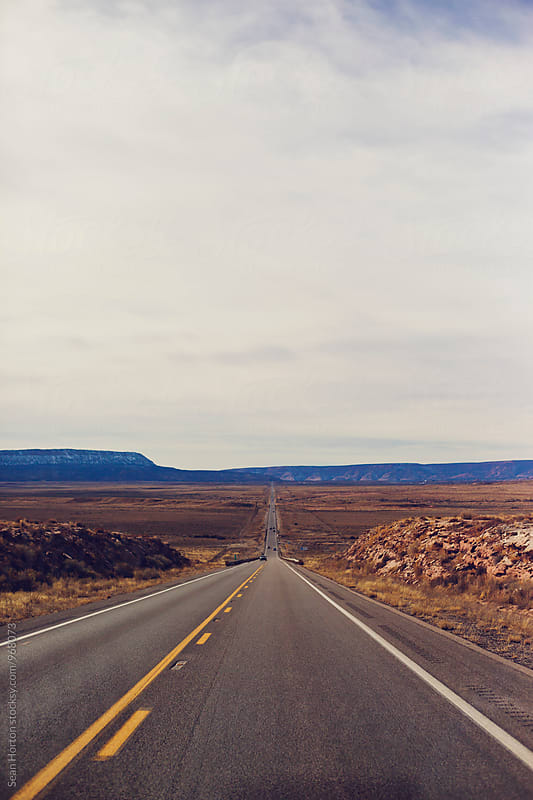 Monument Valley Road by Sean Horton for Stocksy United
