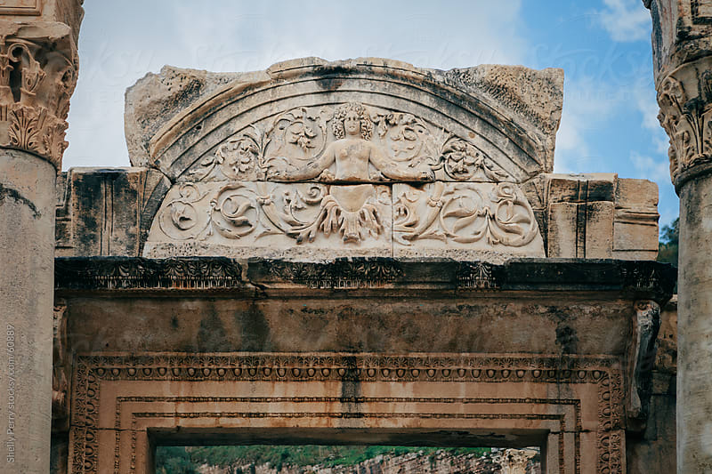 Ruins of Ephesus, Turkey by Shelly Perry for Stocksy United