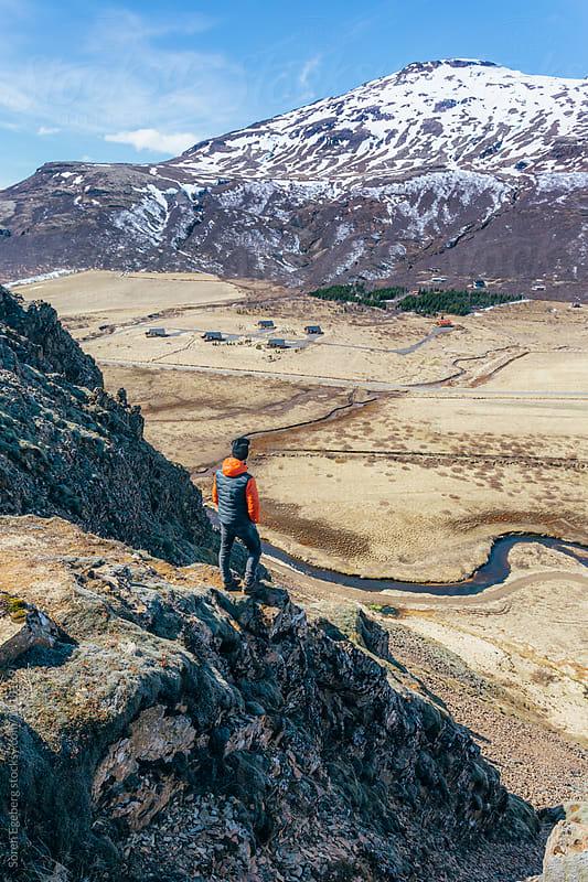 Hiking in Iceland by Soren Egeberg for Stocksy United