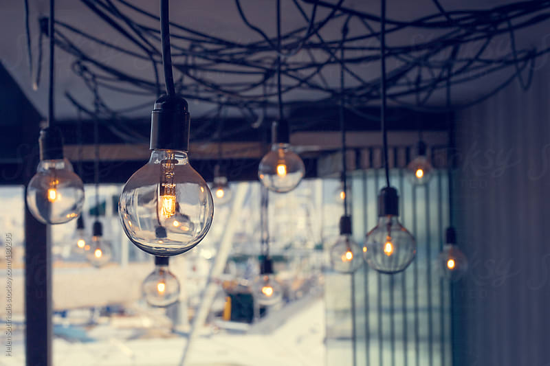 Light Bulbs by Helen Sotiriadis for Stocksy United