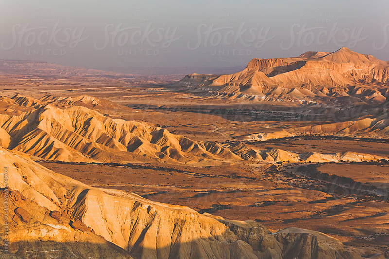 Negev Dessert Israel by Image Supply Co for Stocksy United