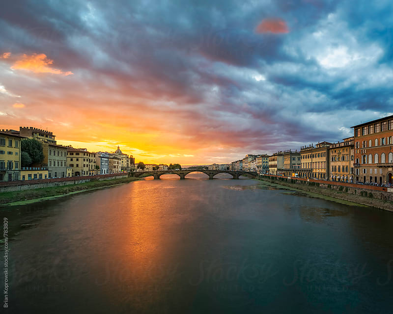 Magic on The Arno by Brian Koprowski for Stocksy United
