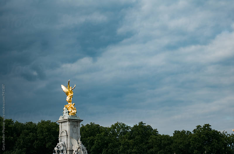 Victoria Memorial, Buckingham Palace, London by Gary Radler Photography for Stocksy United