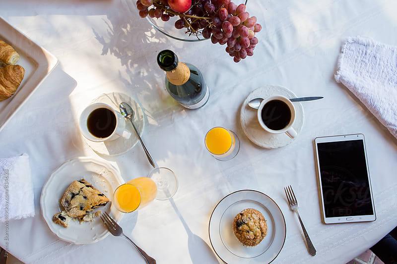 Luxury Breakfast by Jayme Burrows for Stocksy United
