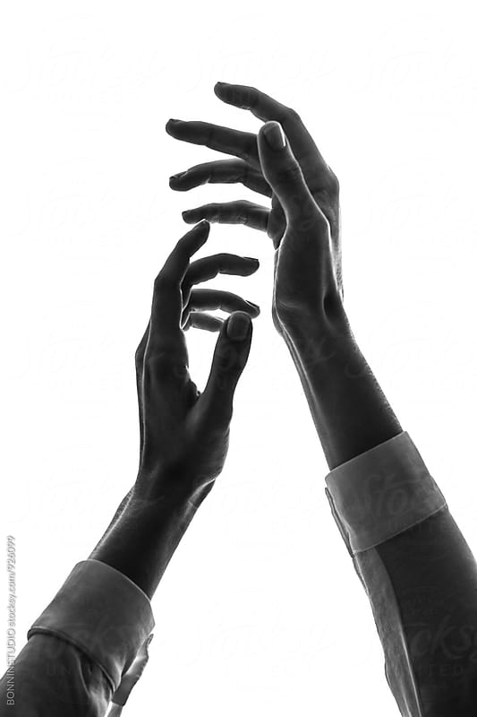 Female's hands. by BONNINSTUDIO for Stocksy United